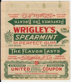 vintage chewing gum - Google Search