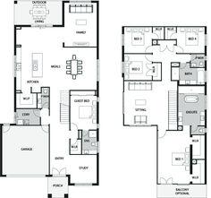 Sorrento 45 Floor Plan