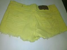 Women's Nice Shorts Size 1 Wall Flower Brand Denim 5 Pocket