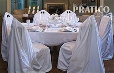 Chaises-fantômes pour Halloween