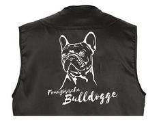 Mil-Tec Outdoor-Weste mit Dummytasche: Französische Bulldogge - Tierisch-tolle-Geschenke