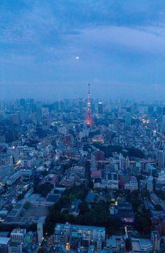Goodnight Tokyo (by slawekkozdras)