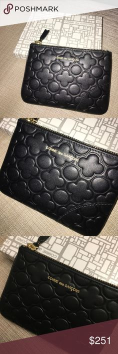 BRAND NEW Comme des Garçons Sold Out Wallet Pouch Sold out everywhere. Completely unused :) Comme des Garcons Bags Wallets