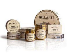 Conservas Billante. Design studio fammilia created the brand and package design for the traditional family business Conservas Billante.