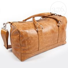 3.7.6. golden beige natural leather, perfect for a weekend away. info@376west.com