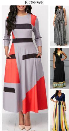 Classy dresses.