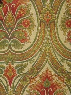 Nathan Ivory - Italian tapestry fabric