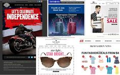 Independence Day via email marketing