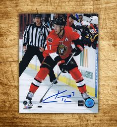 Kyle #Turris #Ottawa #Senators Autographed 8x10 Photo #Hockey #Collectibles CoJo Sport Collectables