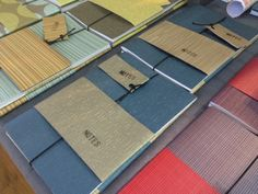 New!  Textured notebooks by Linescapes.  The perfect gift for your mates.