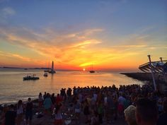 """""""Who is heading down to to watch the sun set this evening before tonight Ibiza Sunset, Great Love, Sunsets, Celestial, Watch, Twitter, Amazing, Outdoor, Outdoors"""