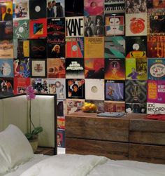 Music Memorabilia Ping Pong Room Urban Bedroom 1st Apartment Living