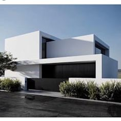 Color home design ideas. Contemporary house designs have a whole lot to use to a modern occupant. Finally, the modern house architecture does not restrict creative minds whatsoever. Minimalist Architecture, Modern Architecture House, Residential Architecture, Interior Architecture, Modern Houses, Modern Villa Design, Modern Contemporary House, Modern Luxury, Facade Design