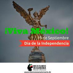 ¡Feliz día de la Independencia! #VivaMexico #MexicanosEnAlemania