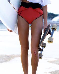 surf skate girl
