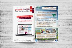 Agence Wouaille ! | Annonce Presse / Encart Publicitaire | Conception Annonce Presse / Encart Publicitaire | Dossier Familial