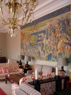 Hotel lobby in Pousadas de Portugal