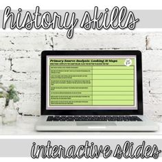 Historical Thinking Skills Bell Ringers (Distance Learning) | TpT