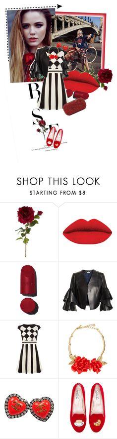 """Red lips"" by chloemichaela ❤ liked on Polyvore featuring Burton, Sia, Chanel, Alexander McQueen, Karen Millen, Oscar de la Renta, Chiara Ferragni, Alice + Olivia, women's clothing and women's fashion"