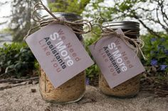 We Need S'More Parents Like You- Smore's bars/ cookie recipe jar- thank you gift idea