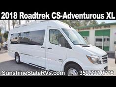 New 2018 Roadtrek CS-Adventurous XL Class B RV - YouTube