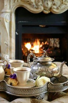 Oh yes, please! Cozy tea!
