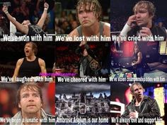 Always support and love Dean Ambrose