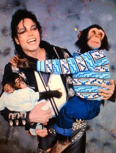 Michael Jackson - Pets - Chimpanzees