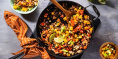 Mexican Black Bean Skillet | Plant-Based Recipes...