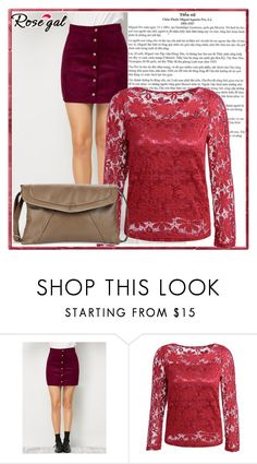 """""""Rosegal"""" by century-fashion ❤ liked on Polyvore"""