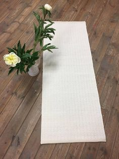 Your place to buy and sell all things handmade White Rug, Ivory White, Handmade Rugs, Handmade Items, Floor Rugs, Minimalist Design, Loom, Hand Weaving, Meditation