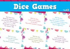 Dice Games :: Teacher Resources and Classroom Games :: Teach This