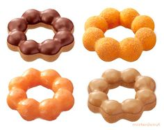 Mister Donut : The best darn thing to sink your teeth into - The Pon De Ring Donut