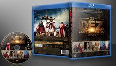 Os Dez Mandamentos - O Filme (Blu-Ray) - Capa | VITRINE - Galeria De Capas - Designer Covers Custom | Capas & Labels Customizados