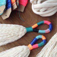 DIY Tassel Making Kit.  Make your own large or mini tassels