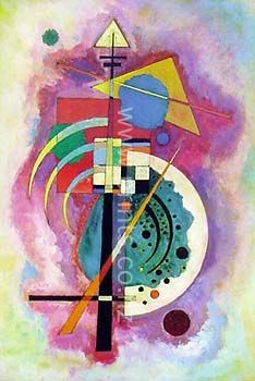 Hommage A Grohmann by Wassily Kandinsky for Sale - New Zealand Art Prints