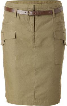 Love this: Cotton Safari Cargo Skirt steffen schraut dressmesweetiedarling