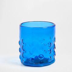 Vaso relieve vidrio - Cristalería - Mesa | Zara Home España