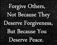 This. Today.  #forgiveness #365DaysOfAwesome