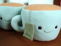 Stuffed tea cup