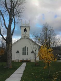 Dorset, VT - There are so many beautiful, quaint churches in New England.  I never tire of photographing them.