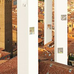 """A scale to the sky (Bologna, Italy), housing international competition """"eVolo. 2011 skyscraper competition"""" client eVolo magazine"""