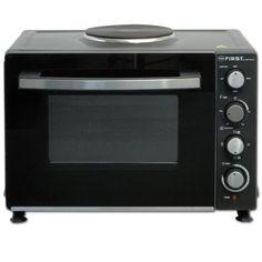 2700 Watt Backofen mit Kochplatte Umluft 30 Liter Mini Minibackofen Miniküche