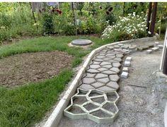 stone garden paths - Google Search