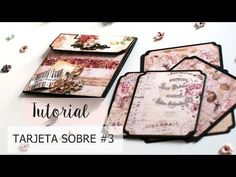 Tutorial Tarjeta Sobre #3 - I found You - YouTube