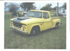 Hazy & used 1963 DODGE D-100 PICKUP TRUCK RAT ROD SHORT BED STEP SIDE V8 ...