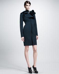 Lanvin Ruffle-Front Coat - beautiful!
