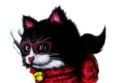 オタクで猫の画像 プリ画像