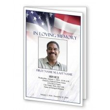 Fancy Border Funeral Program Template  Memorial Service