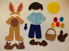 Storybook Felts Felt My Little Easter Boy Doll by StorybookFelts, $11.25